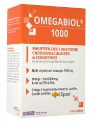 Ineldea Omegabiol 1000 60 Capsules - Boîte 60 capsules
