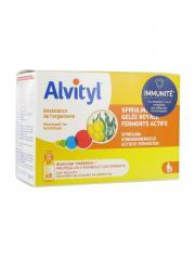 Alvityl Résistance de l'Organisme 8 Flacons de 10 ml - Boîte 8 flacons x 10 ml