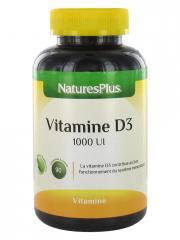 Natures Plus Vitamine D3 90 Comprimés à Croquer - Pot 90 comprimés à croquer