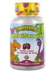 Kal Dinosaures Multisaurus 60 Comprimés - Pot 60 comprimés à croquer