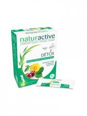 Naturactive Détox 20 Sticks Fluides - Boîte 20 sticks de 10 ml
