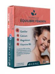 H.D.N.C Formule Équilibre Féminin 30 Comprimés - Boîte 30 comprimés