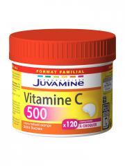 Juvamine Vitamine C 500 120 Comprimés à Croquer - Pot 120 Comprimés