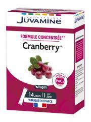 Juvamine Cranberry 14 Sticks - Boîte 14 sticks