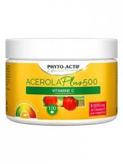 Laboratoire Phyto-Actif Acérola Plus 500 100 Comprimés - Pot 100 comprimés