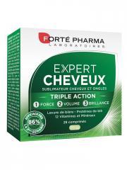 Forté Pharma Expert Cheveux 28 Comprimés - Boîte 28 comprimés