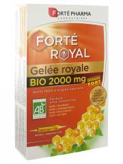 Forté Pharma Gelée Royale Bio 2000 mg 20 Ampoules - Boîte 20 ampoules de 15 ml