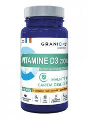 Granions Vitamine D3 2000 UI 30 Comprimés à Croquer - Pot 30 comprimés