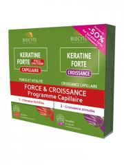 Biocyte Keratine Forte Full Spectrum 40 Gélules + Croissance 20 Capsules - Lot 40 gélules + 20 Capsules