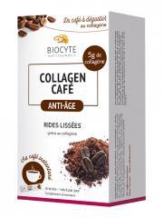 Biocyte Collagen Café Anti-Âge 10 Sticks - Boîte 10 sticks de 9 g