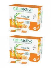 Naturactive Vitalité Lot de 2 x 20 Sticks Fluides - Lot 2 x 20 sticks de 10 ml