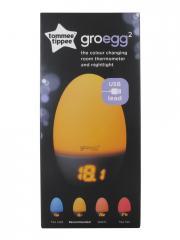 Tommee Tippee Groegg2 Veilleuse Thermomètre 2en1 - Boîte 1 veilleuse thermomètre