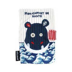 Les Déglingos Mon Carnet de Santé Hippipos L'Hippopotame - Sachet 1 protège-carnet - Publicité