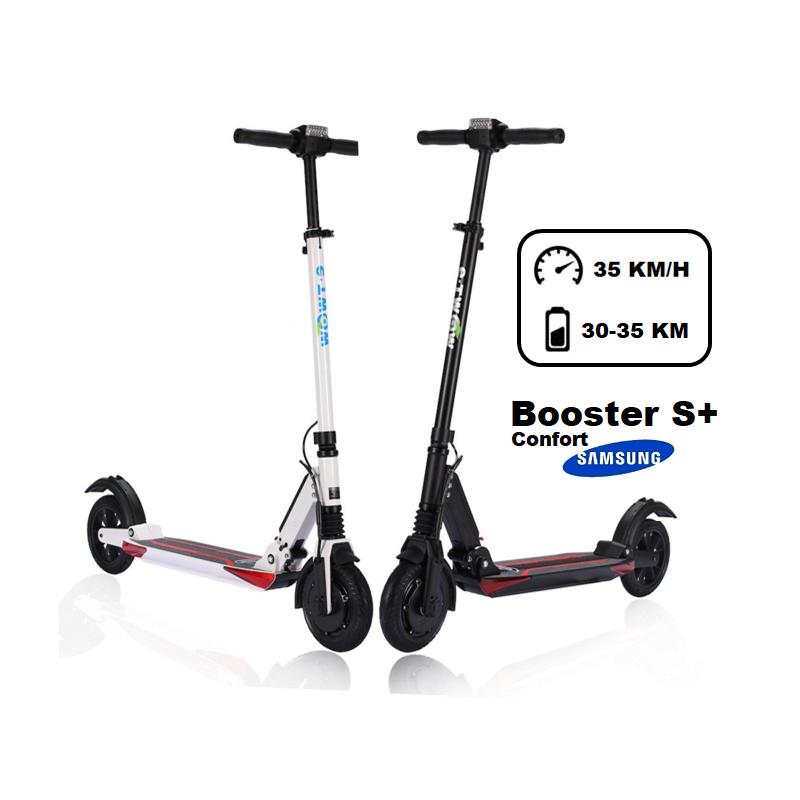e-twow trottinette électrique e-twow booster s+ confort 2020 couleur : - gris