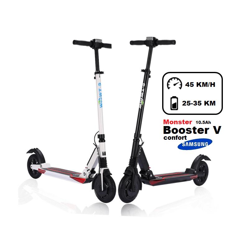 e-twow trottinette électrique e-twow monster confort 10.5ah couleur : - noir