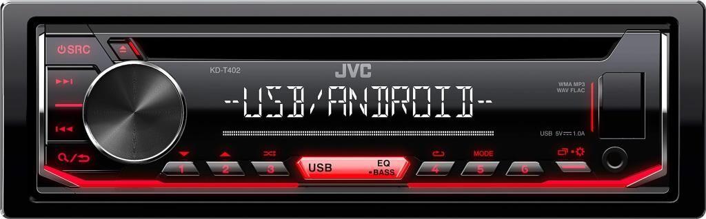 JVC Autoradio JVC KD-T402