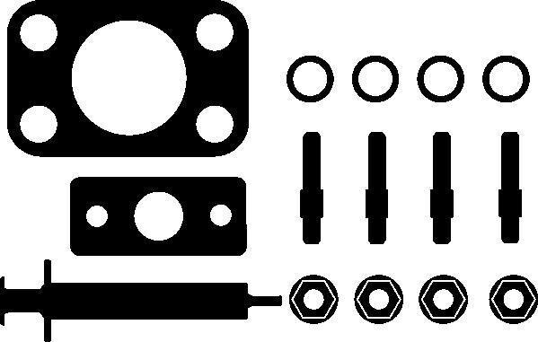 ELRING Kit de montage, compresseur ELRING 714.600