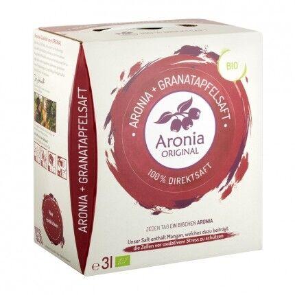 Aronia Original, Pur jus 100% aronia + grenade bio - Pack 1 mois