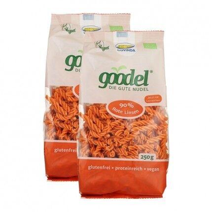 Govinda Goodel, Pâtes aux lentilles corail
