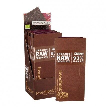 Lovechock Chocolat Cru Bio, 93 % Cacao