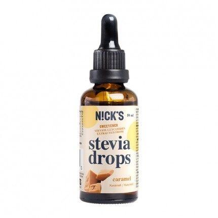 Nick's Stevia Gouttes, Caramel