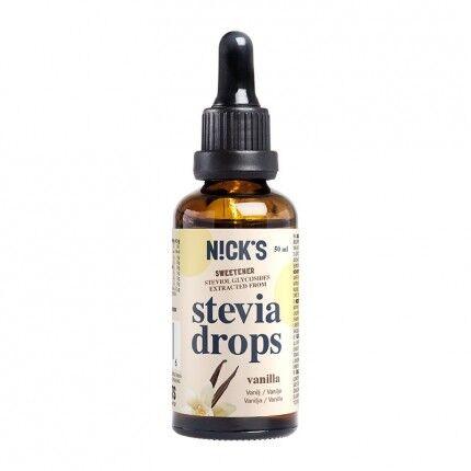 NICK'S Stevia Gouttes, Vanille