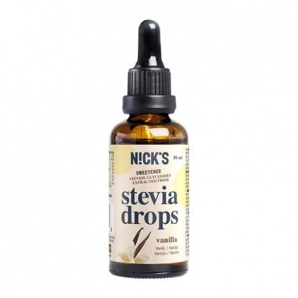 NICK'S Stevia Gouttes, Vanille