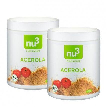 nu3 Acérola bio, poudre