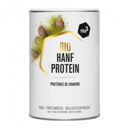 nu3 Protéine de chanvre bio, poudre