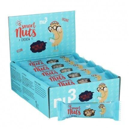 nu3 Smart Nuts noix de cajou bio, barre
