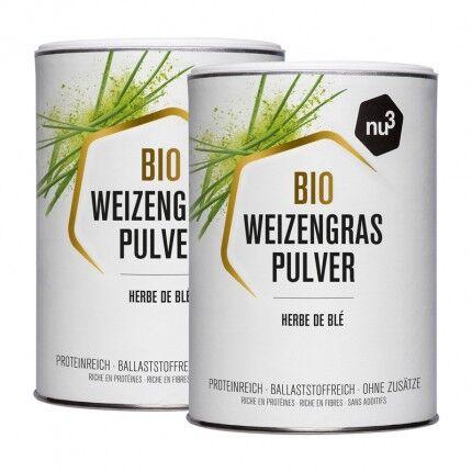 nu3 Herbe de blé bio, poudre