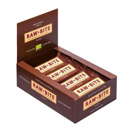Rawbite Raw Bite Bio, Cacao, barres