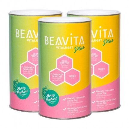 BEAVITA Vitalkost Plus, Framboise-Yaourt, poudre