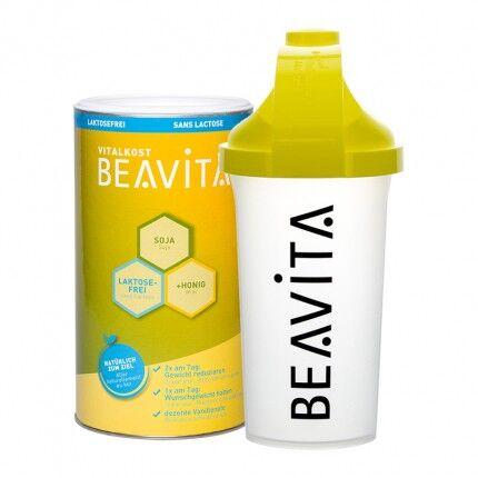 BEAVITA Vitalkost sans lactose, Pack Essai + Shaker BEAVITA