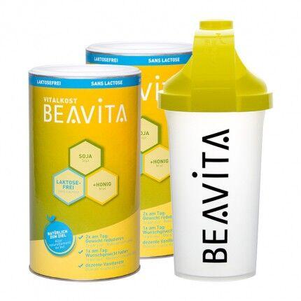 BEAVITA Vitalkost sans lactose, Starter Pack + Shaker BEAVITA