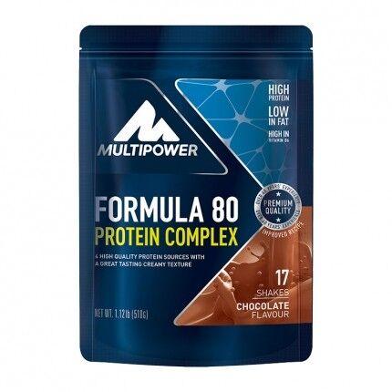 Multipower, Formula 80 évolution au chocolat, poudre