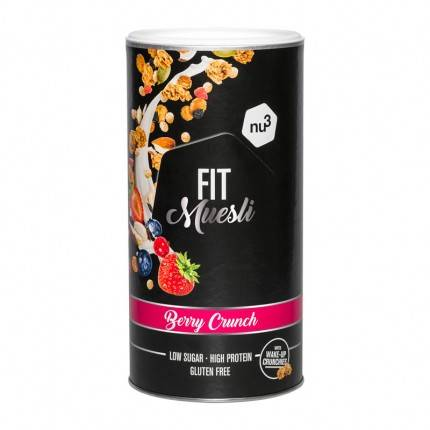 nu3 Fit Protein Muesli, Berry Crunch