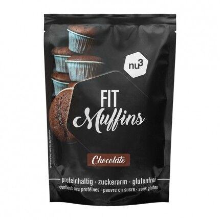 nu3 Fit Muffins, Chocolat, Préparation pour pâte