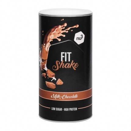nu3 Fit Shake, Chocolat au lait, poudre