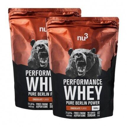 nu3 Whey Performance, Chocolat, poudre