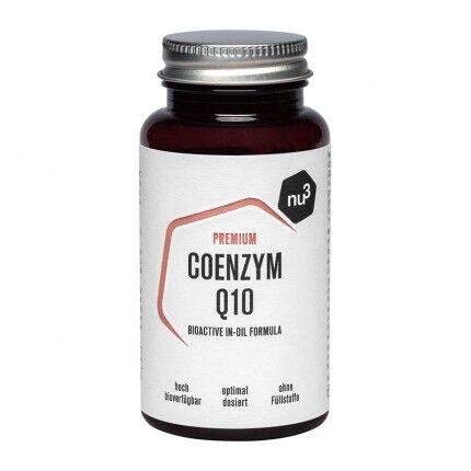nu3 Coenzyme Q10 vegan premium