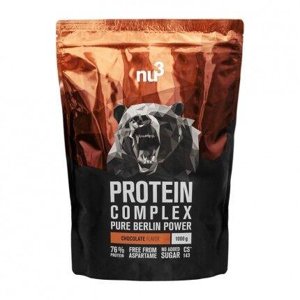 nu3, Protein Complex, Chocolat, poudre