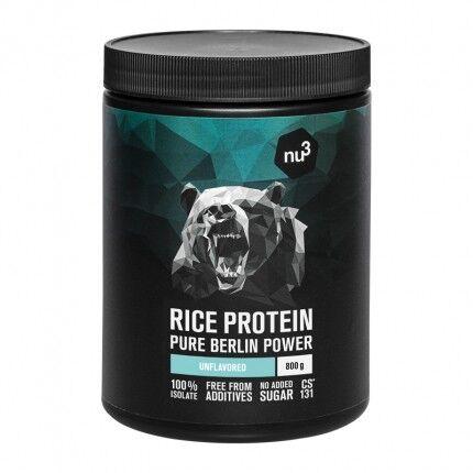 nu3 Protéine de riz, poudre
