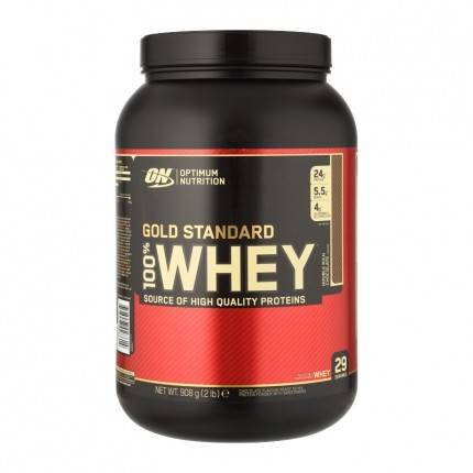 Optimum Nutrition 100% Whey Gold Standard Protein Double Rich Chocolate, poudre