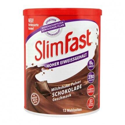 SlimFast, Milkshake chocolat, poudre