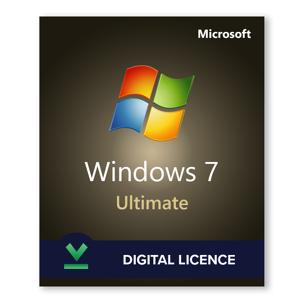 Microsoft Windows 7 Édition Intégrale - Licence numérique - Logiciel en téléchargement - Publicité