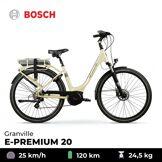 GRANVILLE Vélo électrique E-Premium 20 - Granville - Blanc cassé