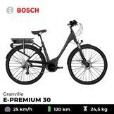 GRANVILLE Vélo électrique E-Premium 30 - Granville - Noir