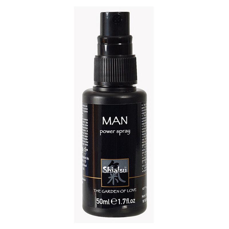 Shiatsu Penis Power Spray pour les hommes