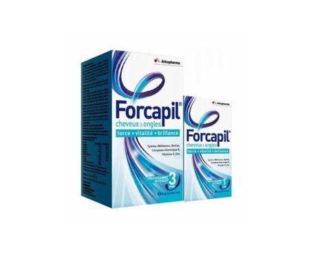 Arkopharma Forcapil Cheveux et Ongles 180+60 Gélules